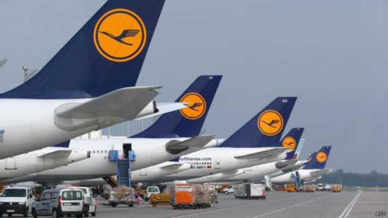 Від завтра страйкуватимуть пілоти дальніх рейсів авіакомпанії Lufthansa