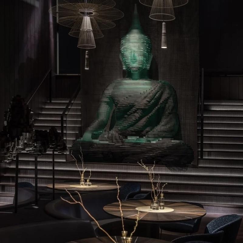 Українська студія розробила дизайн Buddha-Bar у центрі Нью-Йорка
