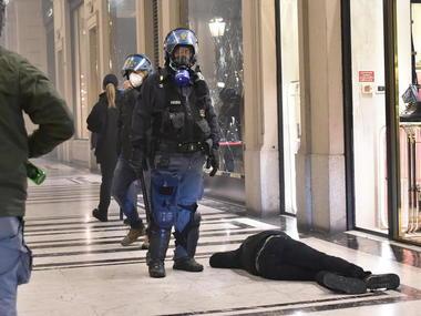 Посилення карантину в Італії спричинило масові заворушення
