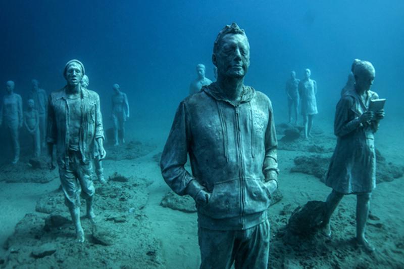 На дні океану з'явився музей, присвячений проблемі біженців (фото)