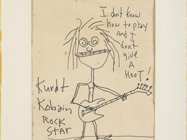За $281 тис: автопортрет Курта Кобейна продали на аукціоні