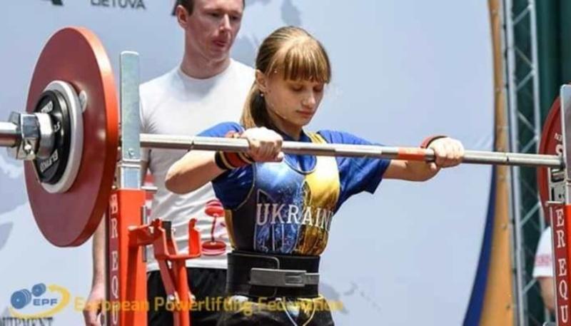 Українка встановила світовий рекорд з пауерліфтингу