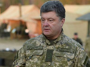 5 000 Ukrainian military were trained by Canadian servicemen, - Poroshenko