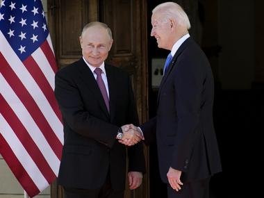 У Женеві розпочалась зустріч Байдена та Путіна