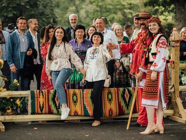 УКУ провів перший фольк-бал «Перелаз» у США: фото