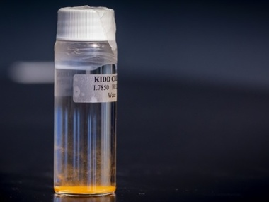 Канадський музей отримав пляшку із водою віком понад мільярд років