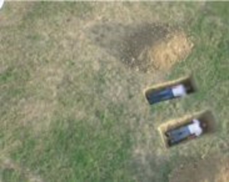 Google Maps показав на карті двох чиказьців, що лежали у могилах