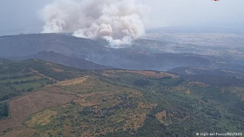 В Італії, Франції та Іспанії вирують лісові пожежі