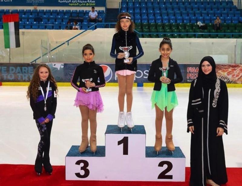 Українська зірочка здобула золото у Дубаї