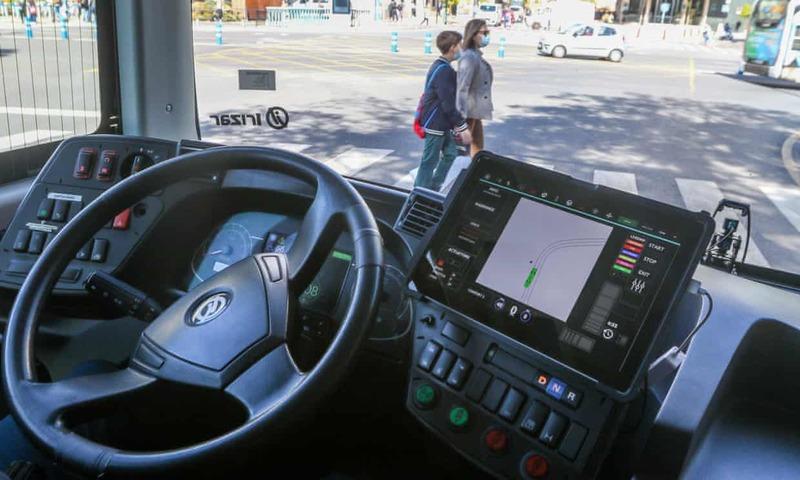У Європі вперше запустили безпілотний громадський транспорт