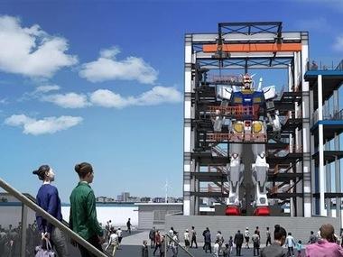 У Японії тестують 18-метрового робота Gundam. Відео