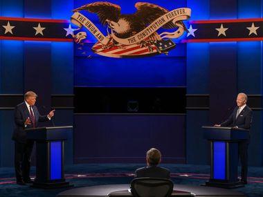 """""""Клоун"""", """"брехун"""", """"цуцик Путіна"""" - завершилися перші дебати Трампа та Байдена"""