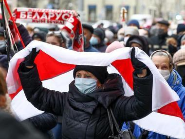 У Білорусі ввели штрафи за вивішування біло-червоних прапорів