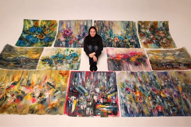 Український національний музей у Чикаго поповнився картинами української художниці