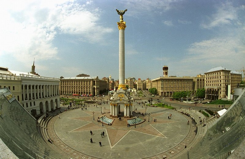 Пам'ятнику Незалежності на Майдані виповнилося 14 років (відео)