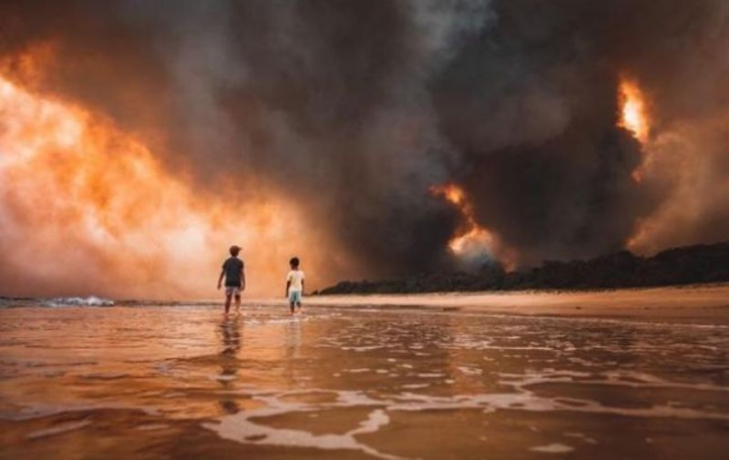 В Австралії другий день ідуть дощі, які допомагають гасити лісові пожежі