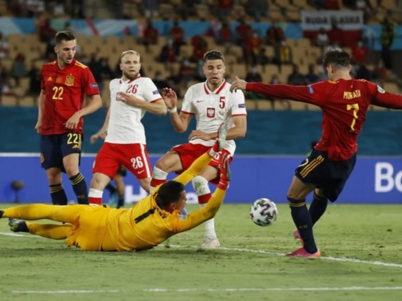 Збірна Іспанії вперше за 27 років не обіграла Польщу