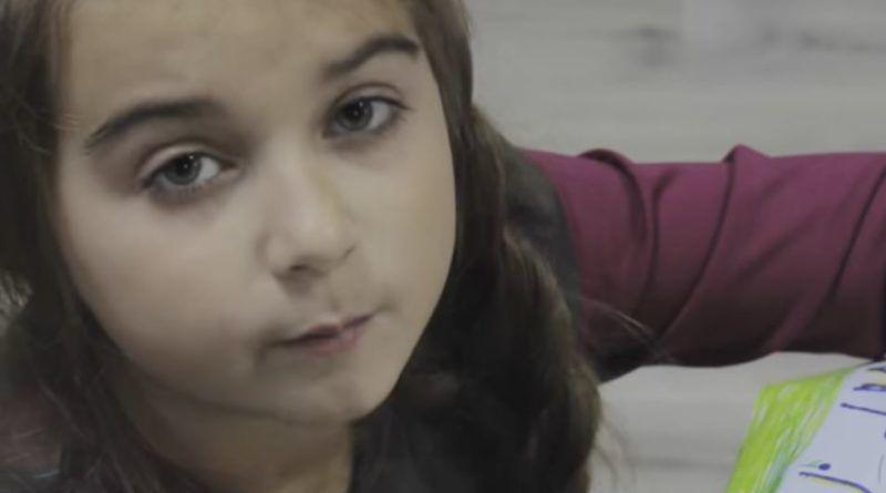 7-річна дівчинка написала чутливий вірш батьку в АТО