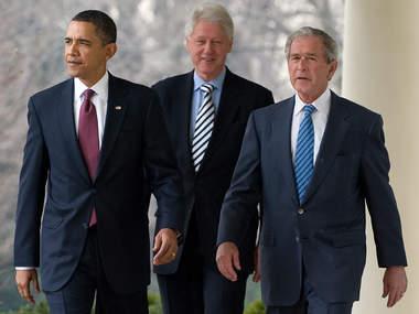 Обама, Клінтон та Буш-молодший привітали Джо Байдена