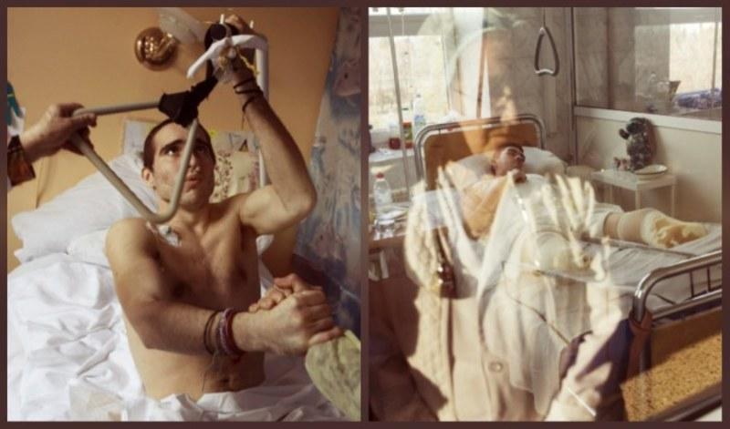 Американський фотограф показав тілесні і духовні рани українських армійців
