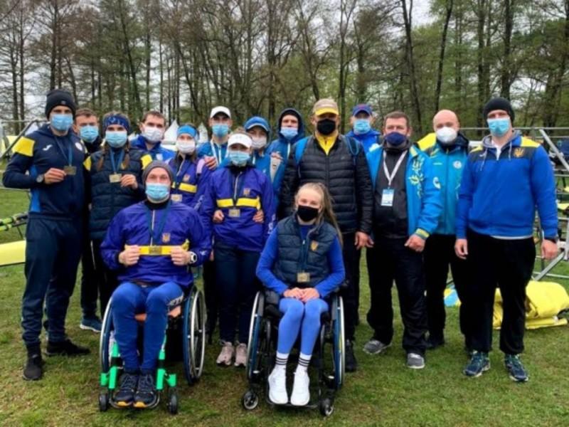 Паралімпійська збірна України виборола три медалі на ЧЄ