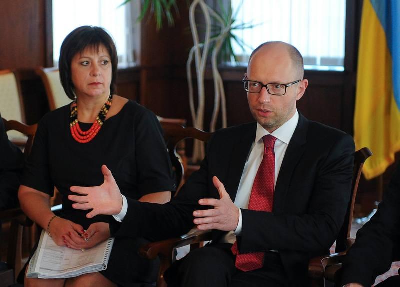 Яценюк та Яресько зустрілися з українською діаспорою Вашингтона
