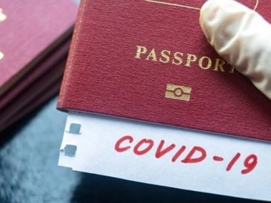 Штати розробляють власні паспорти вакцинації - WP