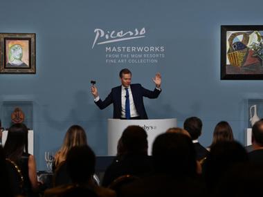Шедеври Пікассо пішли з молотка у Вегасі за майже $110 мільйонів