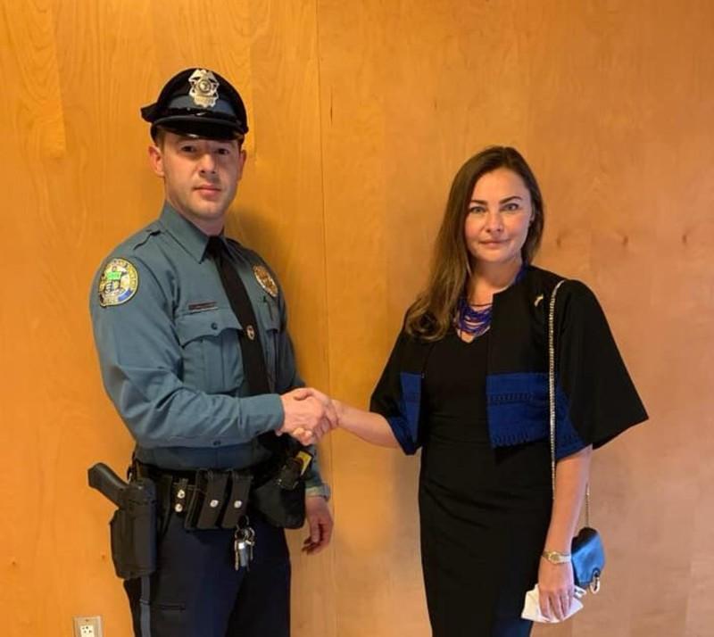 У Пенсильванії поліцейський-українець склав присягу