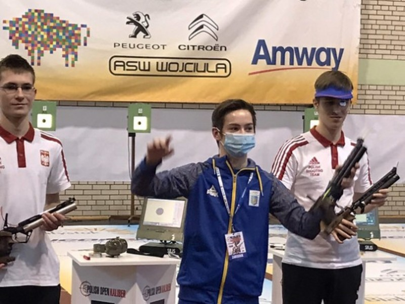 Українські стрільці вибороли дев'ять нагород на турнірі в Польщі