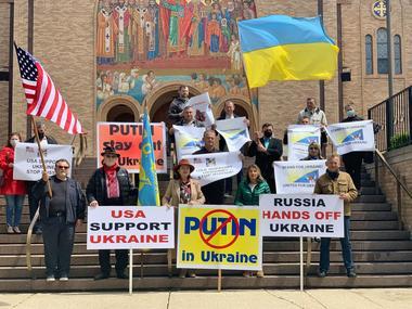 У Чикаго відбулася акція на підтримку України
