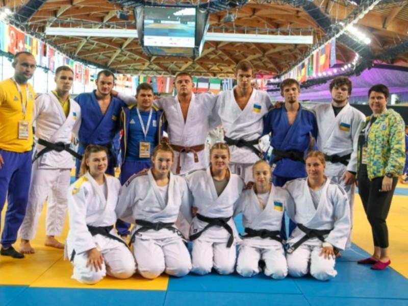 Українці вибороли чотири медалі юніорського ЧЄ з дзюдо