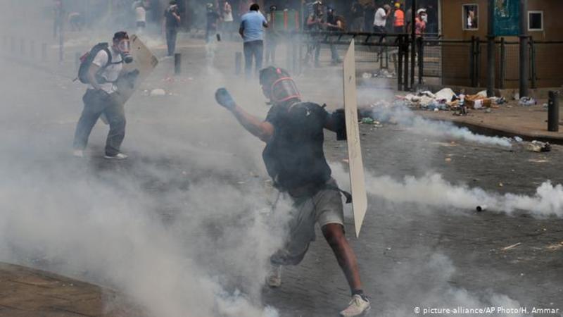 Протести в Бейруті переросли в заворушення