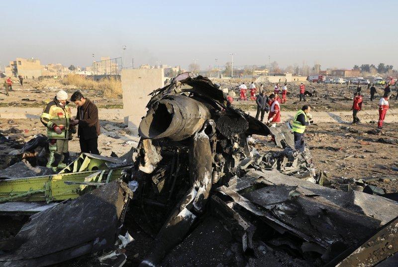 Катастрофа МАУ: Іран заявив про висунуті звинувачення 10 посадовцям