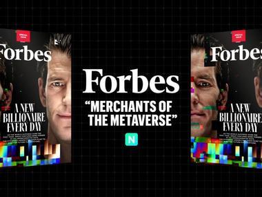 Forbes продав свою обкладинку у вигляді NFT за $333 тисячі