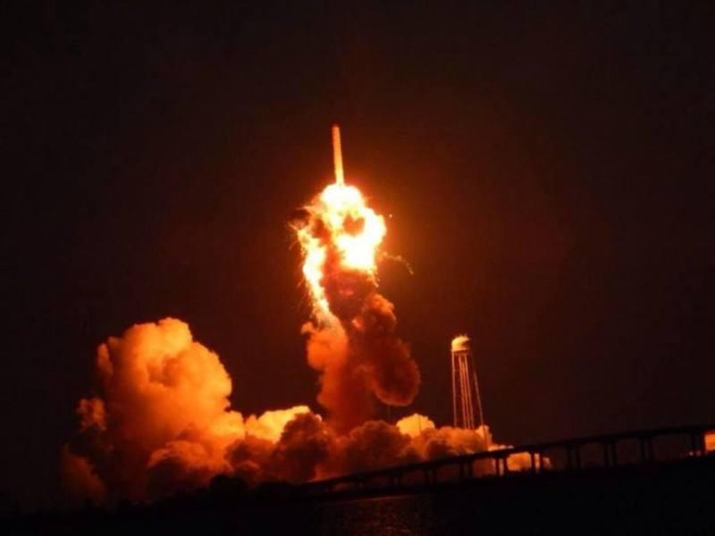 Ракета Antares, яка вибухнула на космодромі NASA, була обладнана російським двигуном