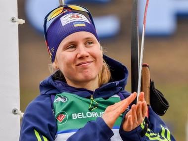 Українка Меркушина стала віце-чемпіонкою Європи з біатлону