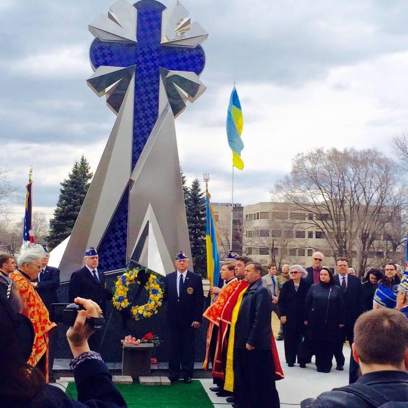 Діаспора Іллінойсу вшанувала пам'ять Героїв Небесної Сотні