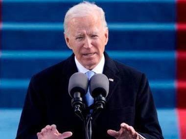 Джо Байден провів свою першу пресконференцію в Білому домі