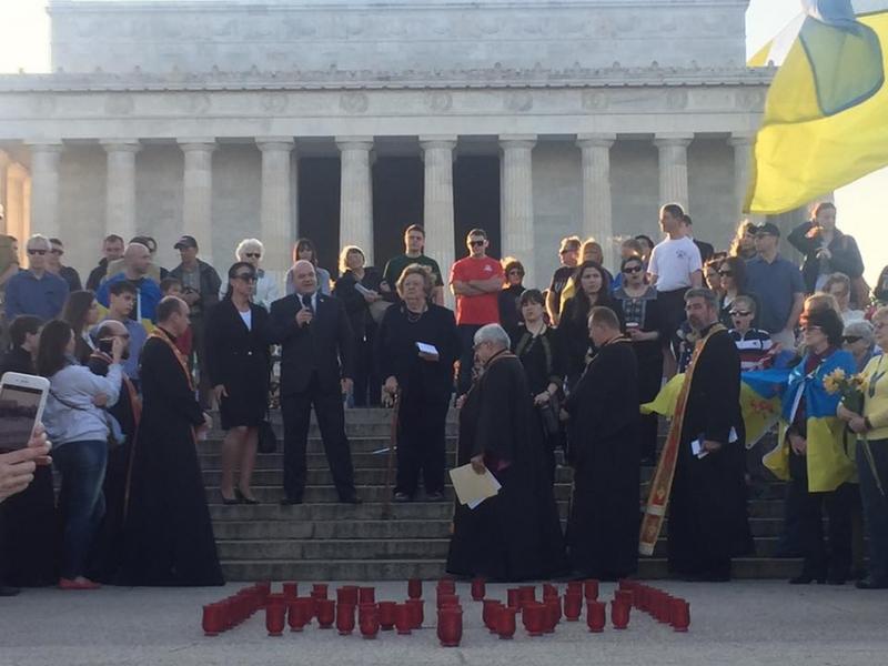 Українці Вашингтона вшанували пам'ять Героїв Небесної Сотні