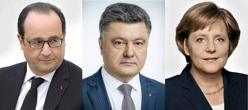 """Порошенко, Олланд та Меркель домовилися про """"нормандську"""" зустріч"""