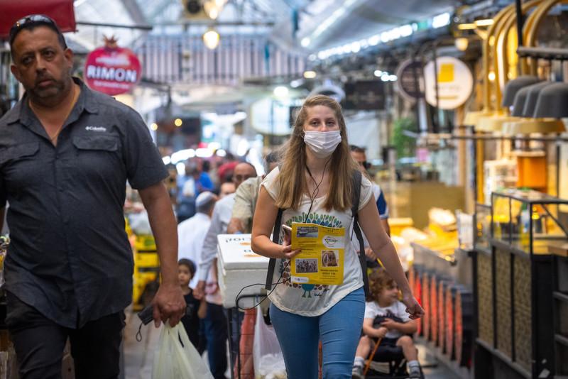 В Ізраїлі скасували обов'язкове носіння масок у приміщеннях
