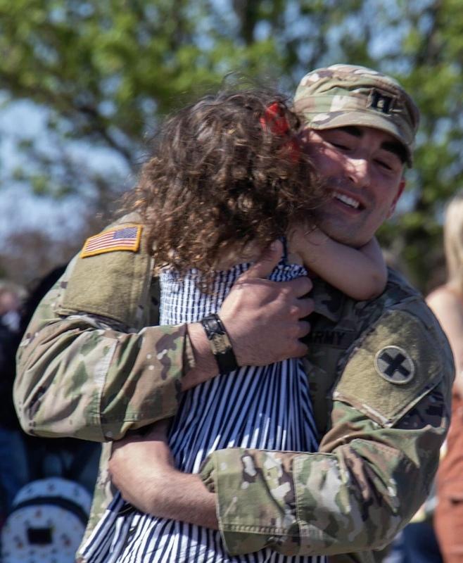 Військовослужбовці Іллінойської Нацгвардії повертаються з України