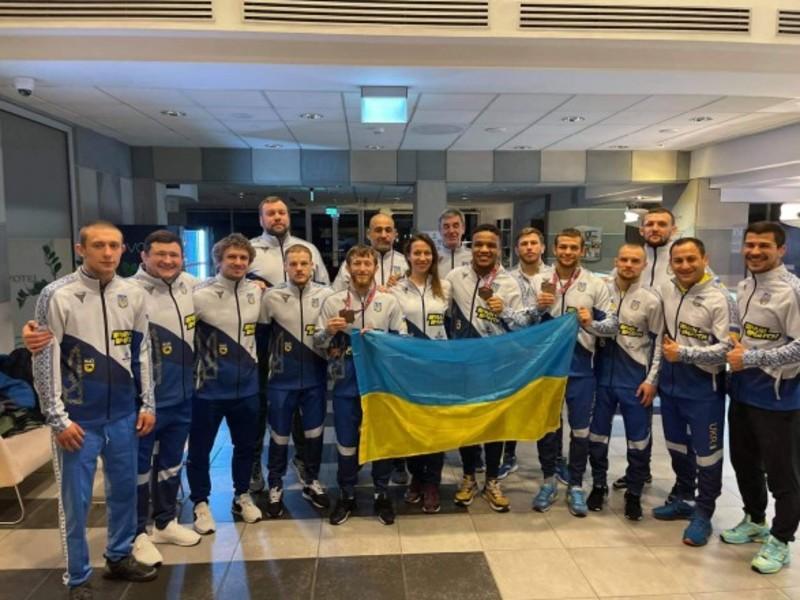 Українські борці вибороли три медалі на Чемпіонаті Європи