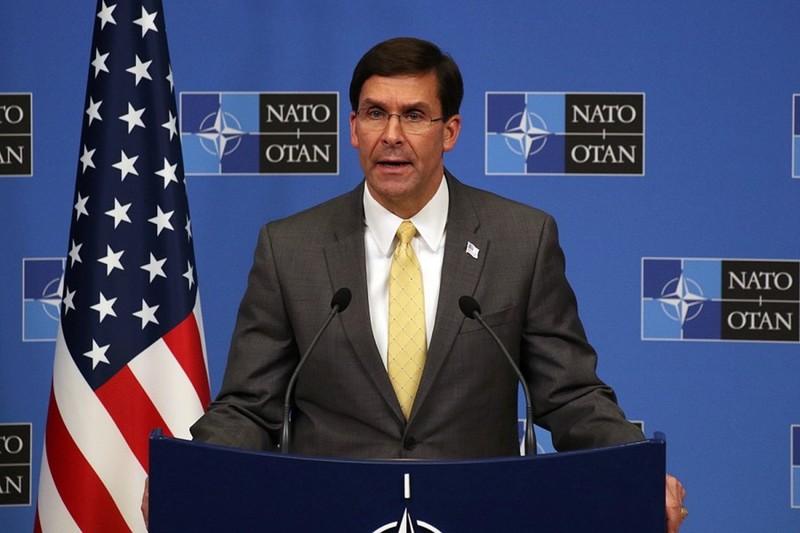Глава Пентагону Марк Еспер розповів про загрози від Росії та Китаю на зустрічі міністрів оборони НАТО
