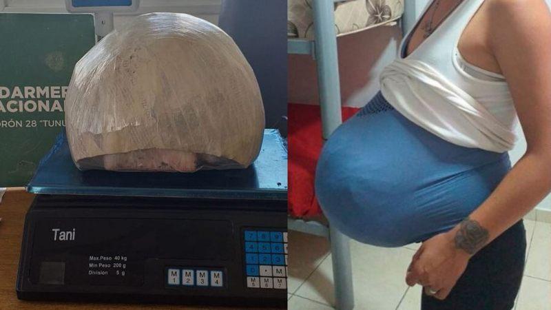 В Аргентині спіймали жінку з животом,наповненим 9 кілограмами марихуани