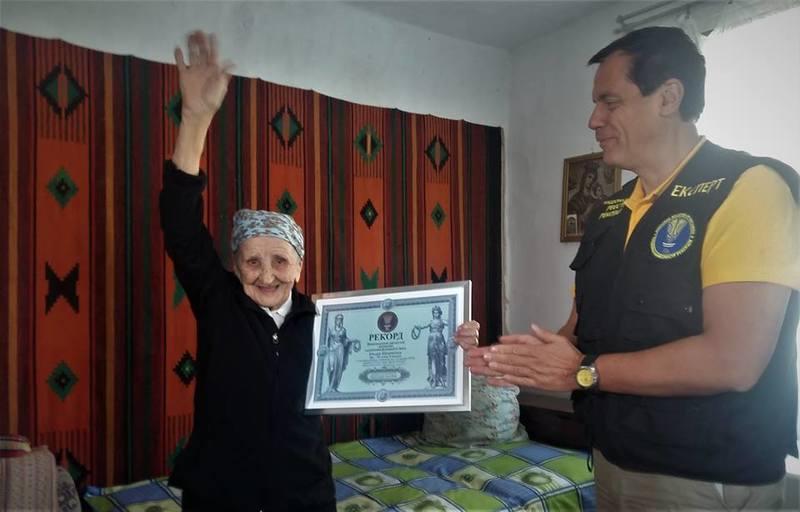 93-річна українка встановила рекорд