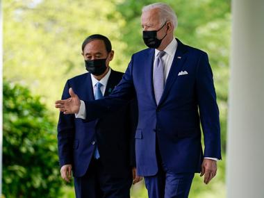 Президент Байден зустрівся з прем'єром Японії Сугою