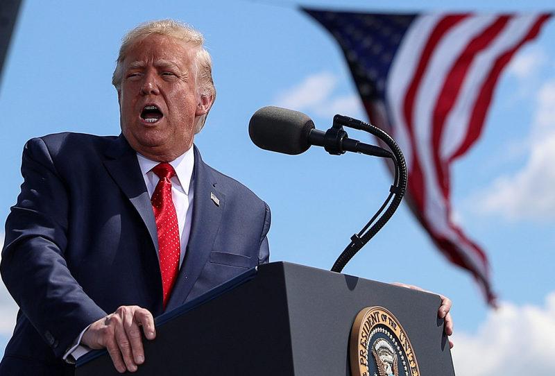 Трамп не гарантує мирну передачу влади після виборів