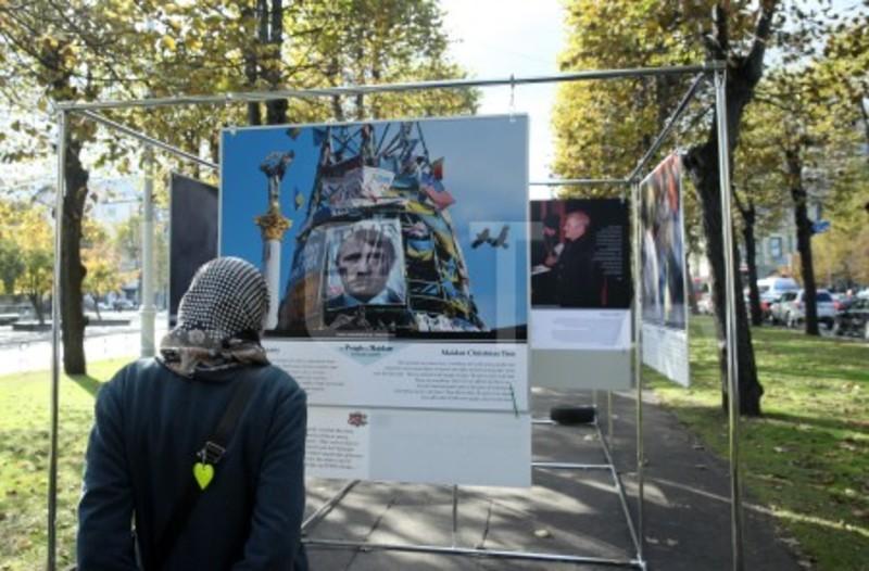 У Латвії заборонили проведення виставки про Майдан